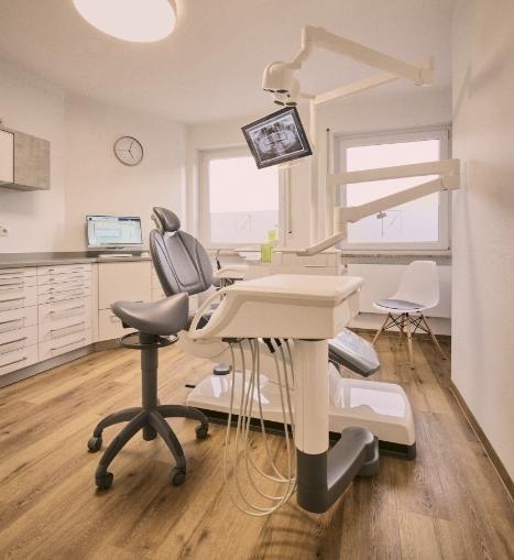 Behandlungszimmer bei Zahnarzt Dr. Franz in Nürnberg